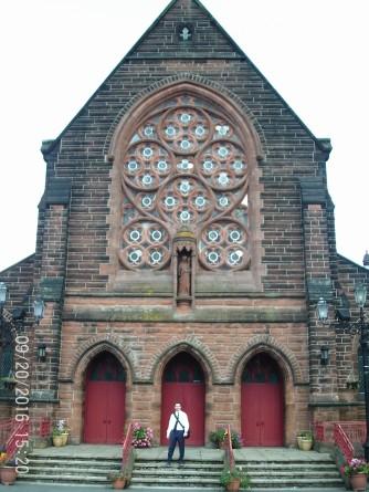 Saint Augustine Church in Coatbridge