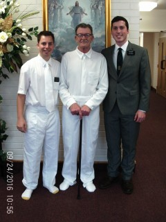 Elder Augustine, Frank, and Elder Magby