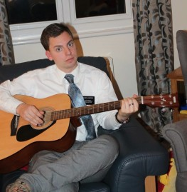 Is Elder Augustine finally sharing his musical talents? PC Sister Blyel
