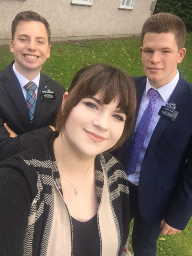 Elder Augustine, Abi, & Elder Ryan