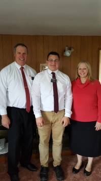 Elder and Sister Smith with Elder Herr