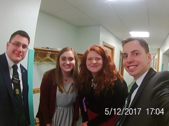 Elder Herr, Sister's, and Elder Augustine